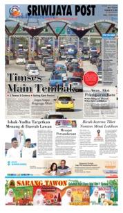 Cover Sriwijaya Post 13 Juni 2018