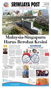 Cover Sriwijaya Post 24 Juni 2018
