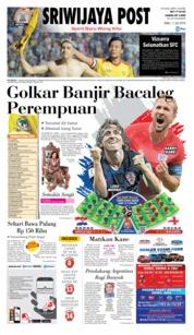 Cover Sriwijaya Post 11 Juli 2018
