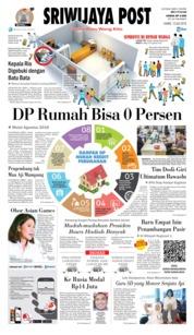 Cover Sriwijaya Post 12 Juli 2018