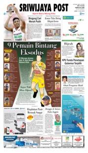 Cover Sriwijaya Post 13 Juli 2018