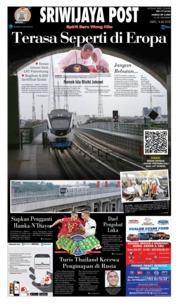 Cover Sriwijaya Post 14 Juli 2018
