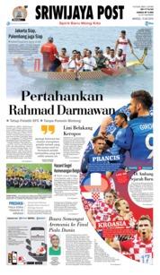 Cover Sriwijaya Post 15 Juli 2018