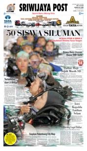 Cover Sriwijaya Post 19 Juli 2018