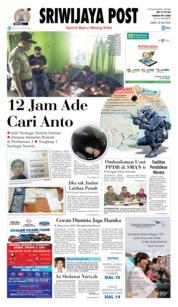 Cover Sriwijaya Post 20 Juli 2018