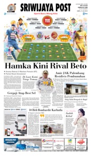 Cover Sriwijaya Post 21 Juli 2018