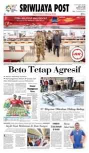 Cover Sriwijaya Post 15 Agustus 2018