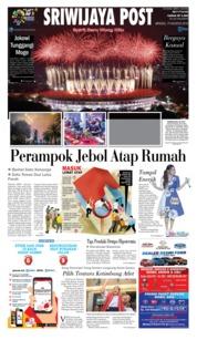 Cover Sriwijaya Post 19 Agustus 2018