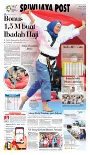 Cover Sriwijaya Post 20 Agustus 2018