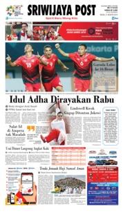 Cover Sriwijaya Post 21 Agustus 2018