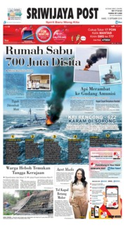 Cover Sriwijaya Post 13 September 2018