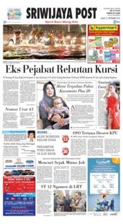Cover Sriwijaya Post 21 September 2018