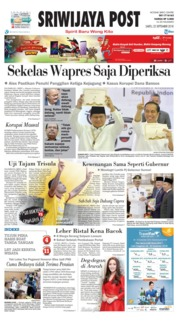 Cover Sriwijaya Post 22 September 2018