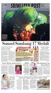 Cover Sriwijaya Post 14 Oktober 2018