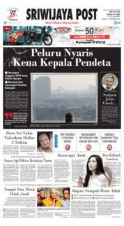 Cover Sriwijaya Post 16 Oktober 2018