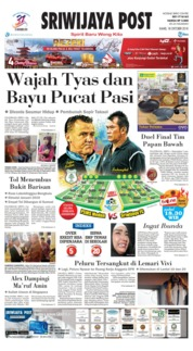 Cover Sriwijaya Post 18 Oktober 2018