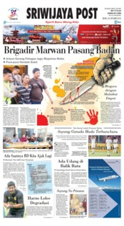 Cover Sriwijaya Post 22 Oktober 2018