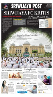 Cover Sriwijaya Post 24 Oktober 2018