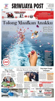 Cover Sriwijaya Post 07 November 2018