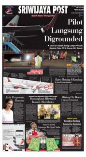 Cover Sriwijaya Post 08 November 2018