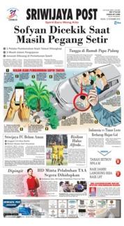 Cover Sriwijaya Post 13 November 2018