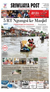 Cover Sriwijaya Post 14 November 2018