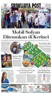 Cover Sriwijaya Post 17 November 2018