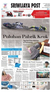 Cover Sriwijaya Post 19 November 2018
