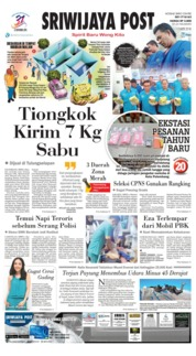 Cover Sriwijaya Post 22 November 2018