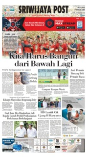 Cover Sriwijaya Post 10 Desember 2018