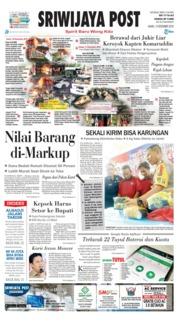 Cover Sriwijaya Post 13 Desember 2018