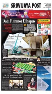 Sriwijaya Post Cover 14 December 2018