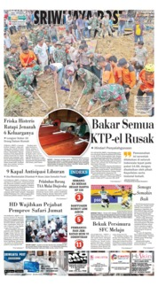 Cover Sriwijaya Post 15 Desember 2018
