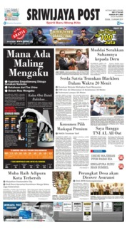 Cover Sriwijaya Post 15 Januari 2019