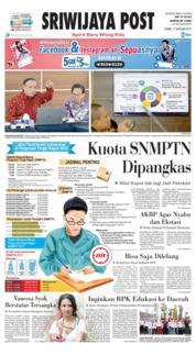 Sriwijaya Post Cover 17 January 2019
