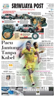 Cover Sriwijaya Post 19 Januari 2019