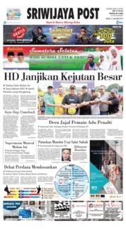 Sriwijaya Post Cover 21 January 2019