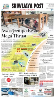 Cover Sriwijaya Post 13 Februari 2019