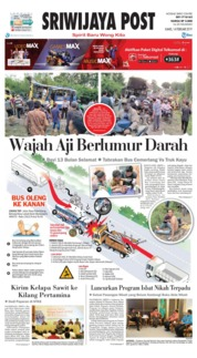 Cover Sriwijaya Post 14 Februari 2019