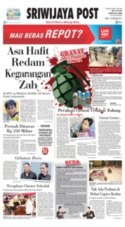 Sriwijaya Post Cover 16 February 2019