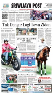 Cover Sriwijaya Post 17 Februari 2019
