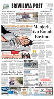 Sriwijaya Post Cover 21 February 2019