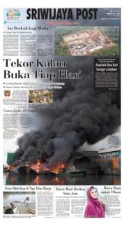 Cover Sriwijaya Post 24 Februari 2019