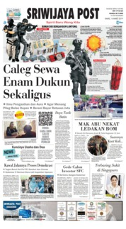 Cover Sriwijaya Post 14 Maret 2019