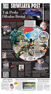 Cover Sriwijaya Post 16 Maret 2019