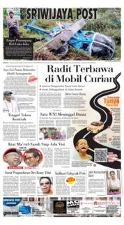 Cover Sriwijaya Post 17 Maret 2019