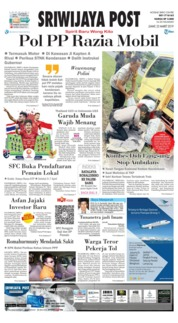 Cover Sriwijaya Post 22 Maret 2019
