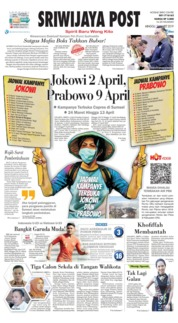 Cover Sriwijaya Post 24 Maret 2019