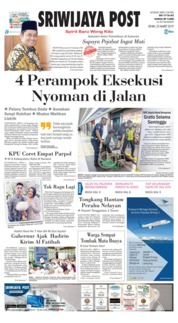 Sriwijaya Post Cover 25 March 2019