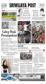 Sriwijaya Post Cover 26 March 2019